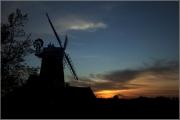 cley-mill-sunset by steve-edwards