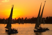 sailing-at-sunset by geoff-astle