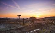 Ridgeway Dawn by Anna Stowe
