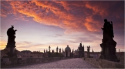 Dawn on Karlov Most by Anna Stowe