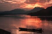 Mekong Sunset by Alex Cranswick