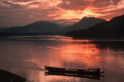 Mekong Sunset by Alex Cranswick