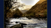 Glaslyn Autumn by Jim Bullock