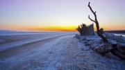 Salt Lake Sunrise by Robert Albright