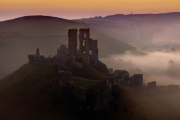 Corfe Pre Dawn by Terry Walters