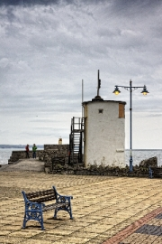 Porthcawl Harbour Pier by Terry Walters