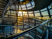 Reichstag Sunset by Nick Pitt