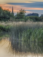 Towards Lechlade by Dave Young