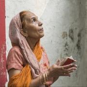 Woman At Prayer by Davina Clift