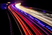 Ambulance Light Trail by Wendy Nicholls