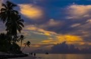 001 Sunset in Punta cana by Iveta Petrikova