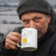 002That Warming Cupa by Jim Bullock
