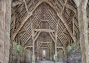 Great Coxwell Barn by Mike Stanley