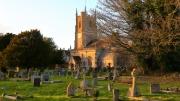 St James Church Avebury by Paddy Bohan