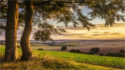 Sunset over the Downs by Anna Stowe