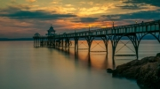 Dusk at Clevedon by Dave Young