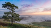 Pewsey Sunrise by Dave Young