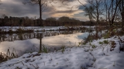 Winter on the Canal by Tony Marson