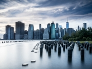 Pillars of New York by Mike Buy