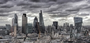 London skyline by Mike Stanley
