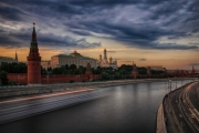 Kremlin Sunset by Mike Stanley