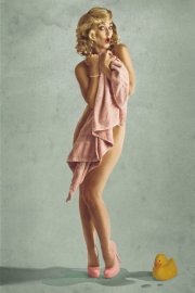 Bath Time by Geoff Astle