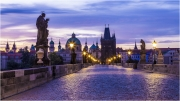Daybreak in Prague by Anna Stowe