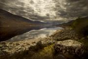 Lochside View by Geoff Astle