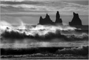 Reynisdrangar, Iceland by Steve Edwards