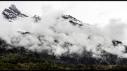 Mountain Cloud Italian Alps by Lyn Day