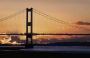 Severn Sunset by Gerry Jones