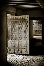 Lacock Doorway by Geoff Astle
