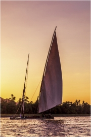 Sailing into the Sunset by Anna Stowe