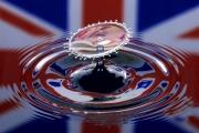 London-eye-water-drop by Nick Pitt