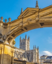 Bath-abbey by terry-onslow