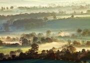 Misty Sunrise by Anna Stowe